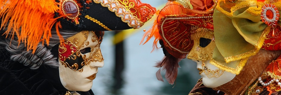 Venice Carnival - Masked Lovers 2010
